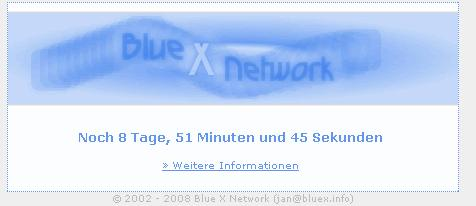 Blue X Network 2 is coming