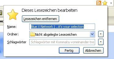Firefox 3: Neue Lesezeichen