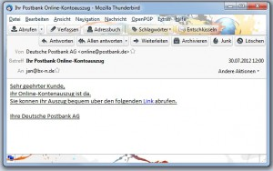 Postbank Phishing - Keine Chance!