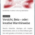 theXME Online @Mobile