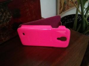 Galaxy S4 - Pinke Hülle (meiner Schwester! :-P)