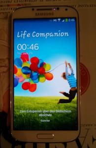 Galaxy S4 - wieder in Betrieb