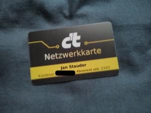 c't Netzwerkkarte