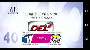 Telekom Eishockey App: Countdown
