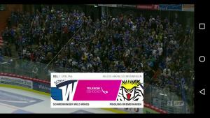 Telekom Eishockey App: Los geht's!
