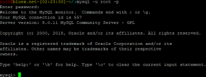 Hallo, MySQL 8.0.11!