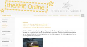 theXME.de vorher